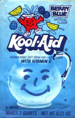 Berry Blue Kool Aid Kool Aid My Childhood Memories Childhood Memories