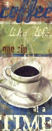 Take #coffee like life, one sip at a time.
