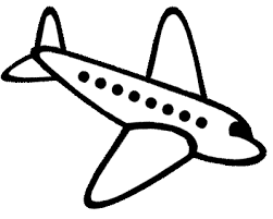 Image Result For Simple Outline Drawings For Kids Simple Airplane Drawing Airplane Drawing Airplane Painting