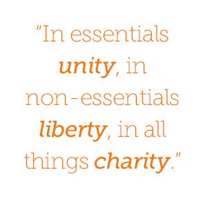 Image result for in essentials unity quote images
