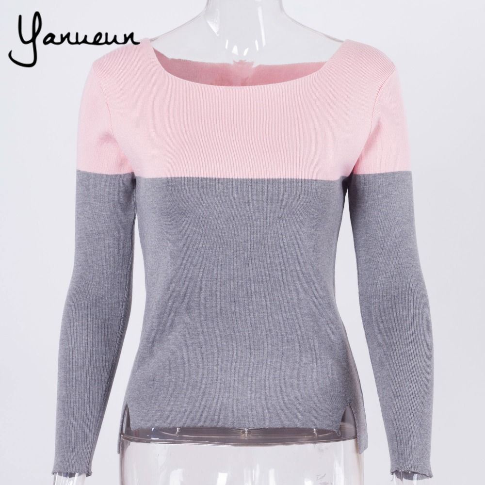 Colorful Apparel Fashion Sweater Women Spring Knitted Pullovers ...
