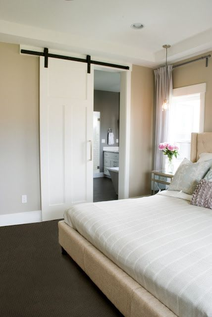 The Parade House Reveal Home Modern Barn Door White Rooms