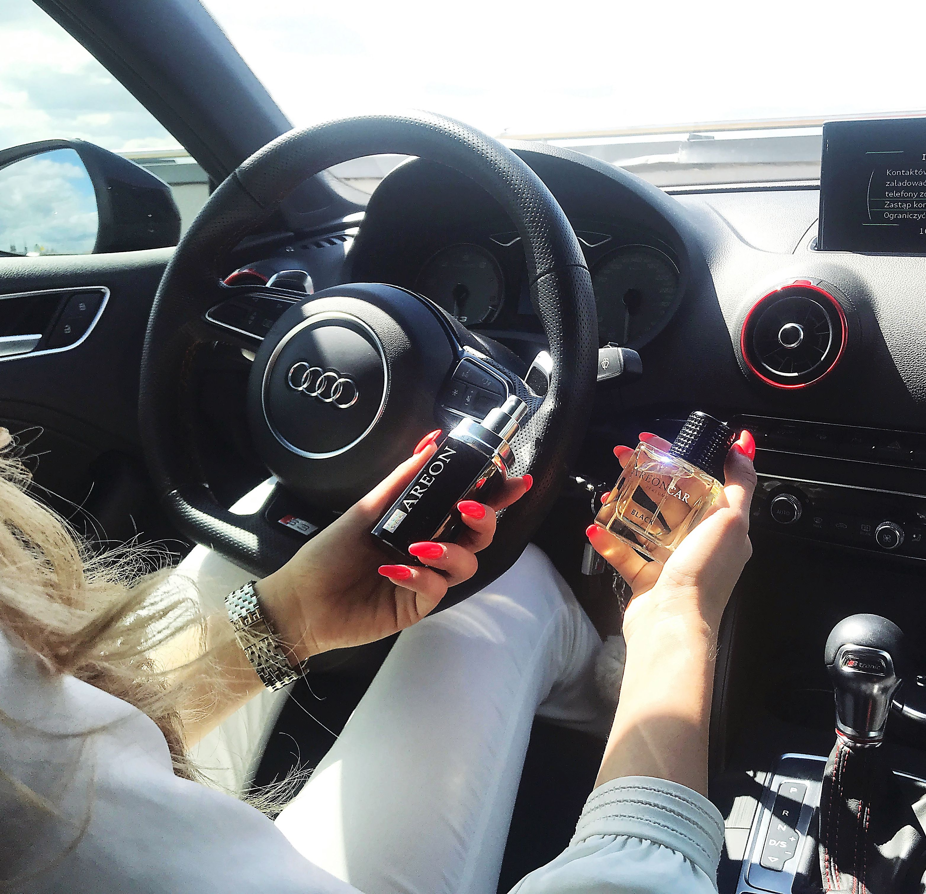 Spdrives Women Specialist Of Audi And Car Lover With Areon Car