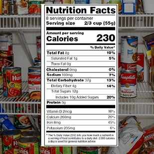 Mayo Clinic Minute: New look for nutrition labels.