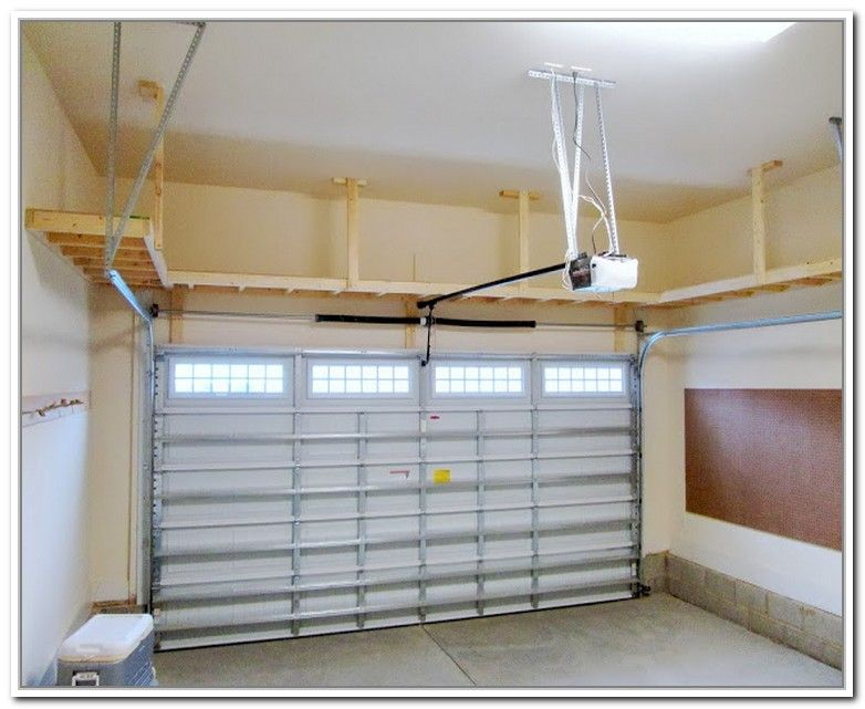 Overhead Garage Storage Plans For The Home Garag