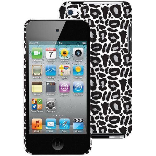The Macbeth Collection Silver Leopard iPhone 4s Case