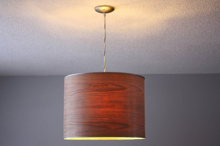 Ikea Rutbo Turned Wood Veneer Pendant Wood Veneer Wood Lamps