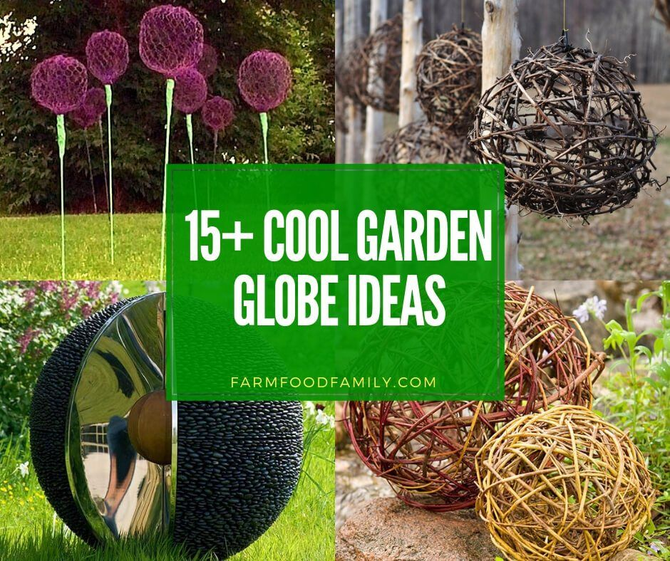 15+ Best DIY Garden Globe Ideas & Designs For 2020 is part of Garden globes, Diy garden decor, Garden balls, Garden spheres, Diy garden, Rock garden design - Looking for something cool to do for your garden  Take a look at these creative garden globe ideas from different materials (upcycled, concrete   )