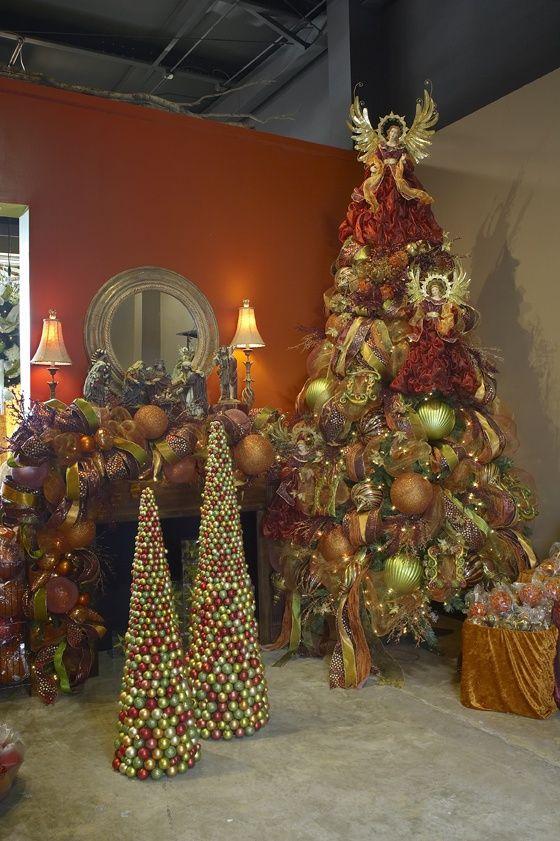 Ideas de decoración de Navidad Arboles de Navidad Pinterest
