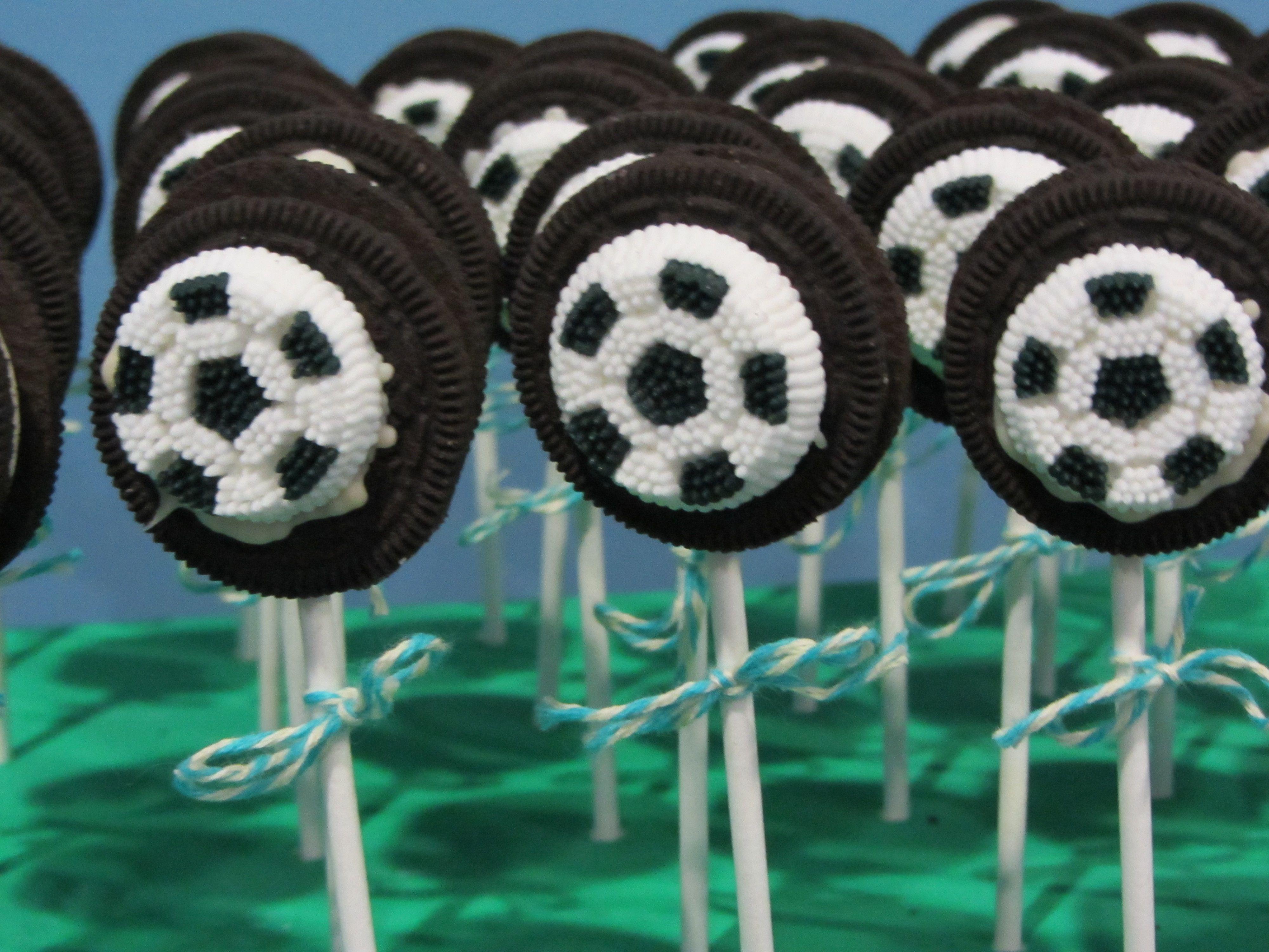 How To Make Easy Soccer Ball Cake Pops