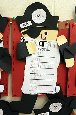 Resources and Ideas for AR words - Pirate Theme!