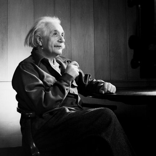 """I never think of the future. It comes soon enough.""  ~Albert Einstein"