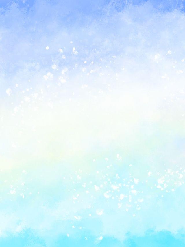 Blue Watercolor Dreamy Fashion Minimalistic Background