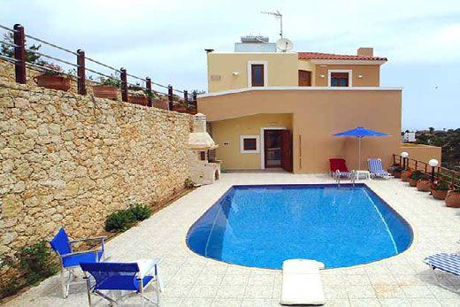 Aloni Villa Diese Grossartige, Hochwertige 3 Schlafzimmer Villa Befindet  Sich Im Dorf Roussospiti,