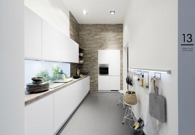 Description de nolte kuchen ALPHA MANQUE cuisine de luxe