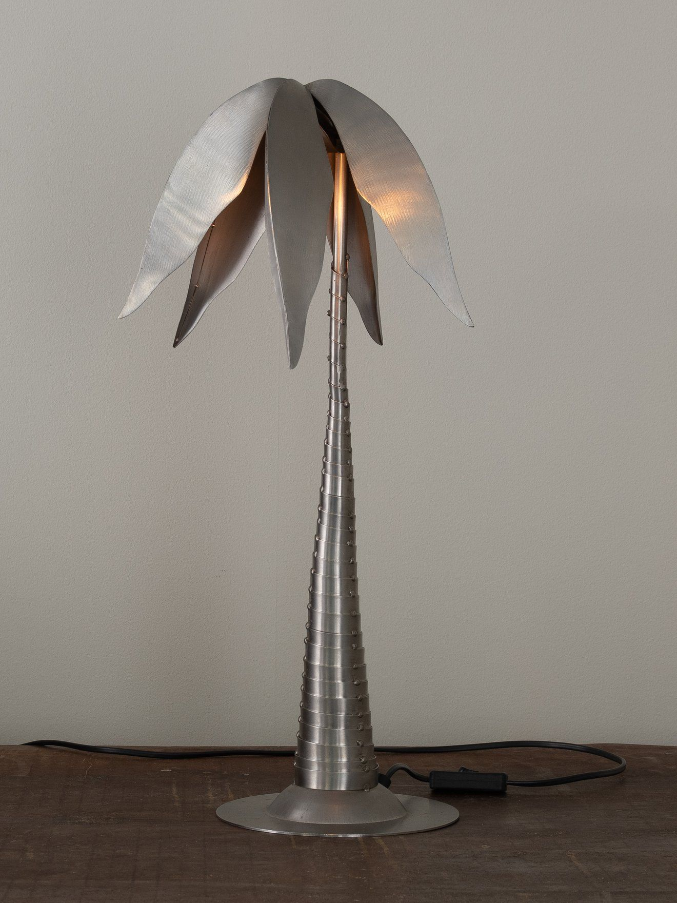 Machinist Palm Tree Lamp In 2020 Tree Lamp Lamp Table Lamp