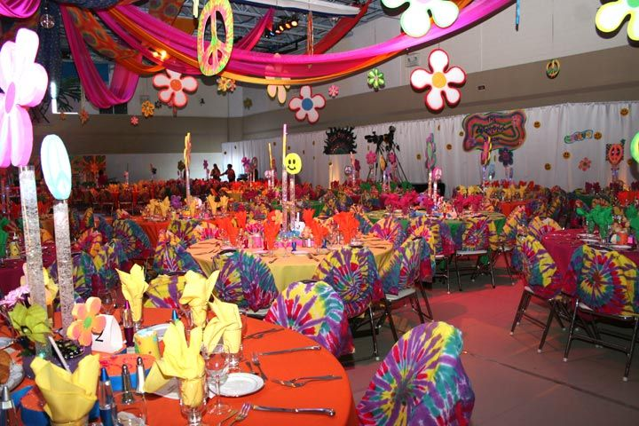 Image result for 70s party table decorations | Disco party ...