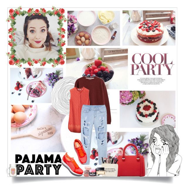 """Zoella: How to Make a Summer Fruits Cake"" by jacqui-huang ❤ liked on Polyvore featuring Norse Projects, Uniqlo, Victoria Beckham and Givenchy"