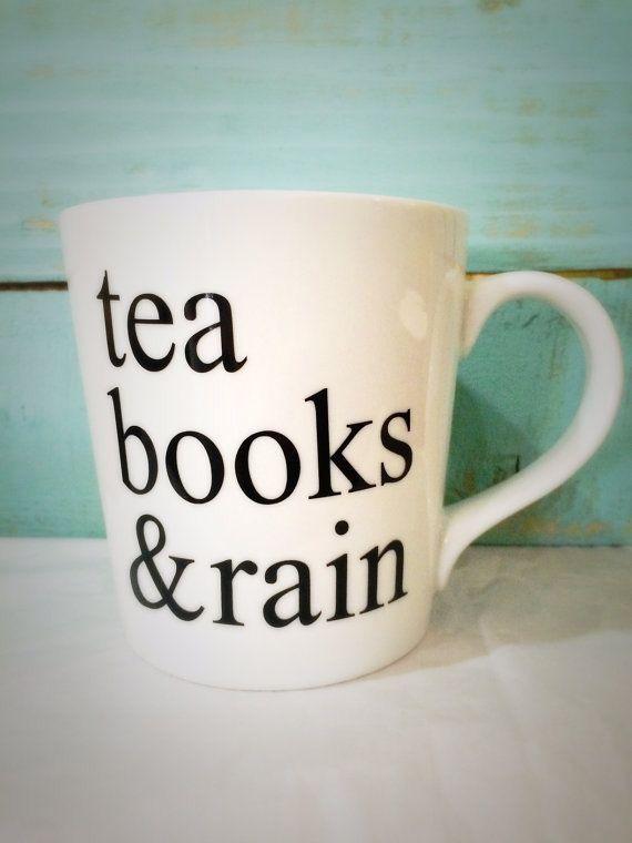 VIDA Statement Bag - RAIN,BOOKS & COFFEE by VIDA