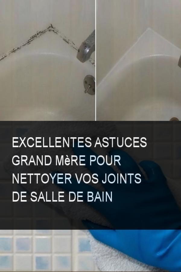 Excellentes Astuces Grand Mere Pour Nettoyer Vos Joints De Salle De Bain Nettoye Nettoyer Bain Joint Joints Astuce Astuces Grandmere E Home Decor Decals