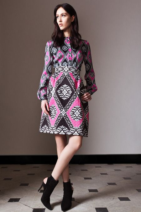 Temperley London | Pre-Fall/Winter 2014 Collection via Designer Alice Temperley | December 3, 2013; London