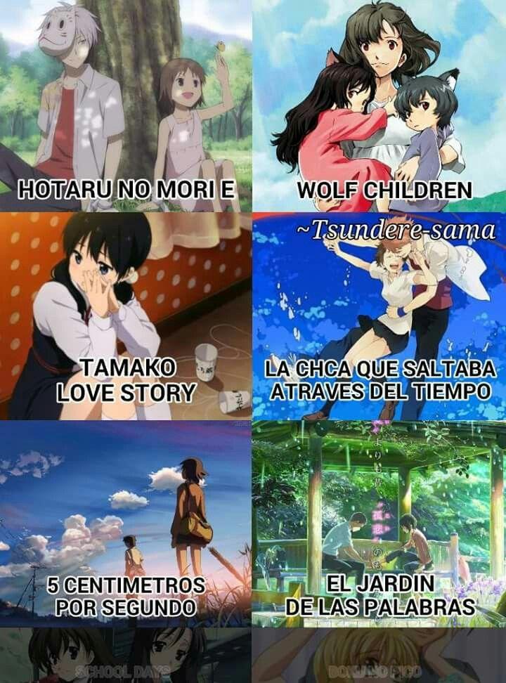 Pin De Ignacio En Otaku Fangirl Uwu Peliculas De Anime Anime Para Ver Mejores Peliculas De Anime