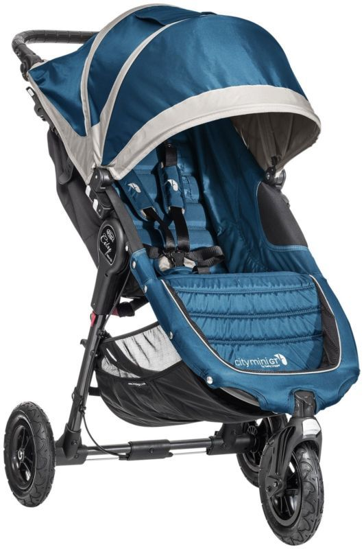 Baby Jogger City Mini Gt Stroller Teal Gray Brand New