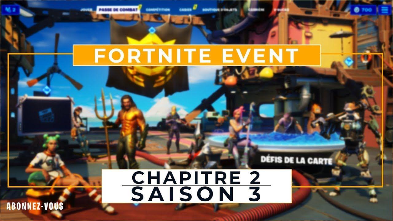 Fortnite Chapitre 2 Saison 3 Cinematique D Intro En 2020 Saison 3 Fortnite Les Saisons