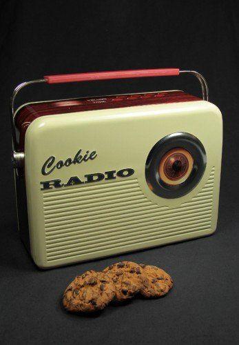 Keksdose Cookie Radio Mit Henkel Weihnachtskult De Http Www Amazon