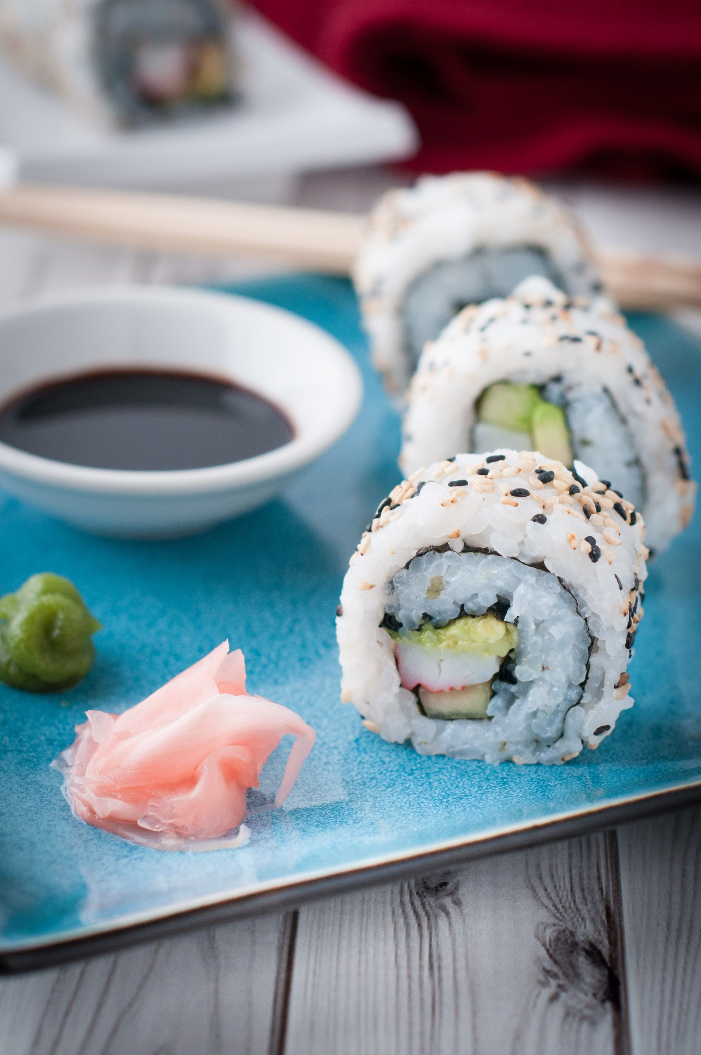 California Rolls For The Home Cook