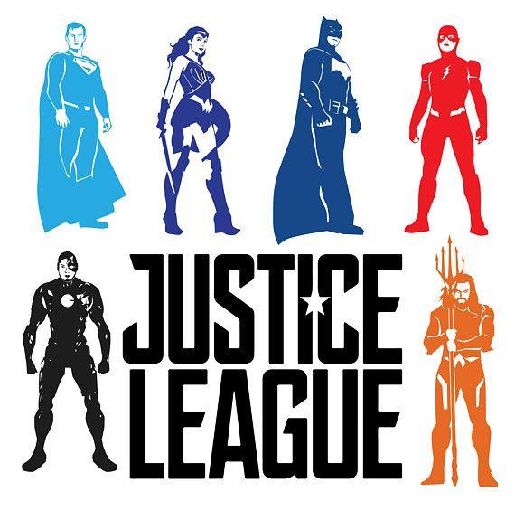 Justice League bundle [ WHAT YOU GET ] Justice League vector art in ...