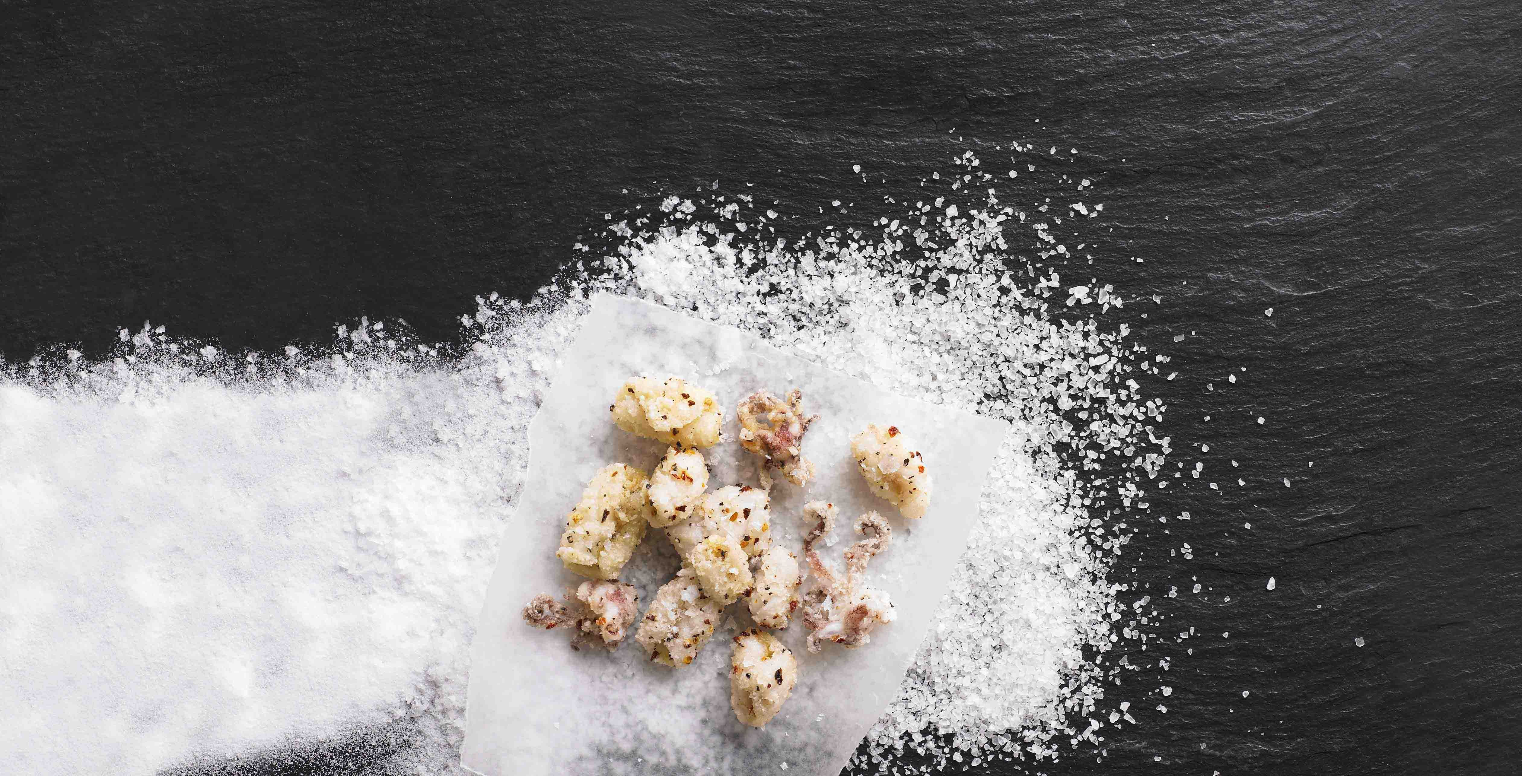 Learn how rock salt, sea salt, fleur du sel, pink salt and British salt are made, then try our delicious salt and chilli squid recipe for dinner.