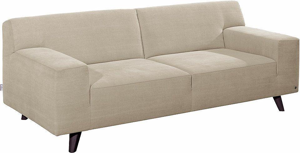 Tom Tailor 2 Sitzer Sofa Nordic Pure Im Retrolook Füße
