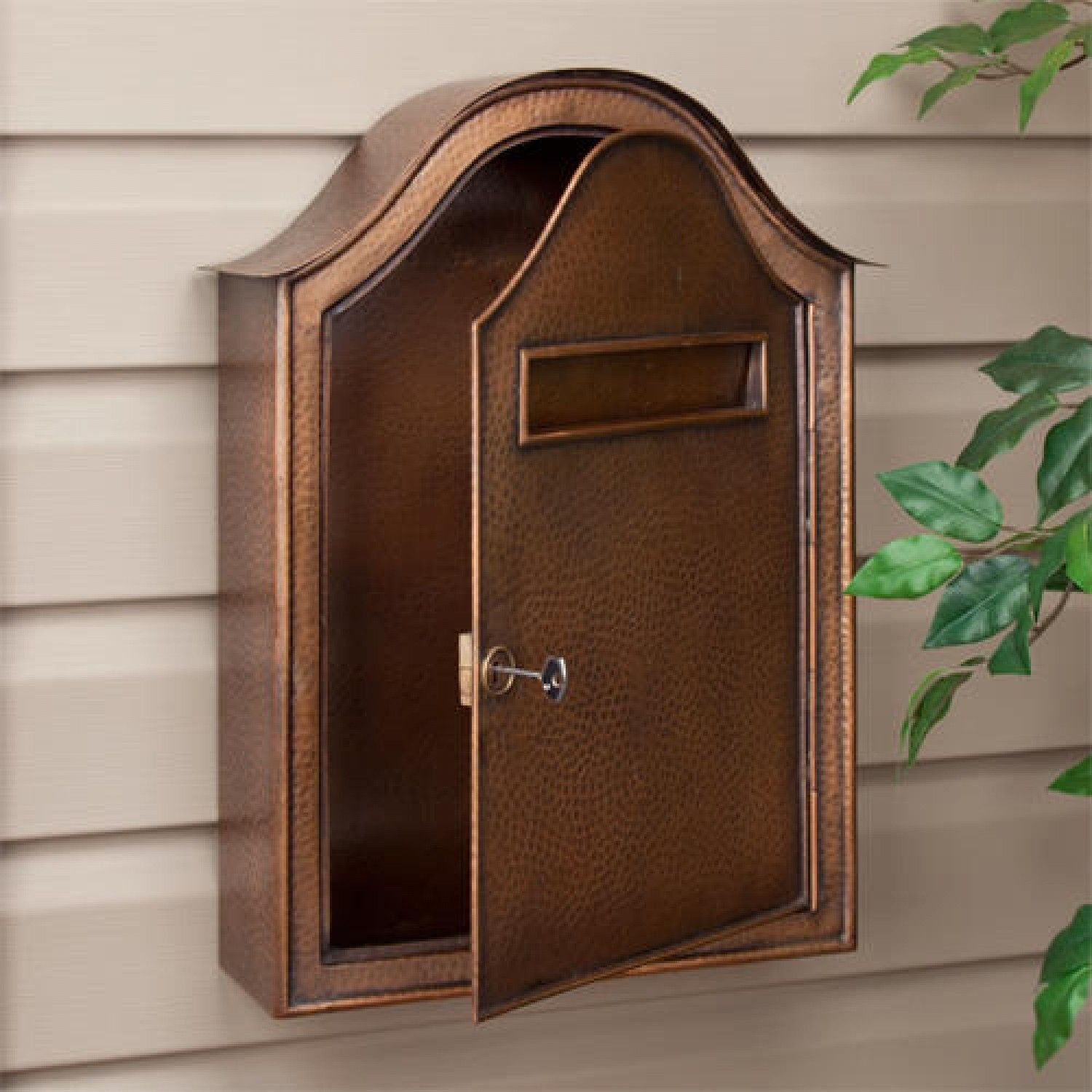 Interesting Exterior Home Design With Wall Mount Mailbox Interesting Exterior Wall Mount Mailbox Mounted Mailbox Large Mailbox
