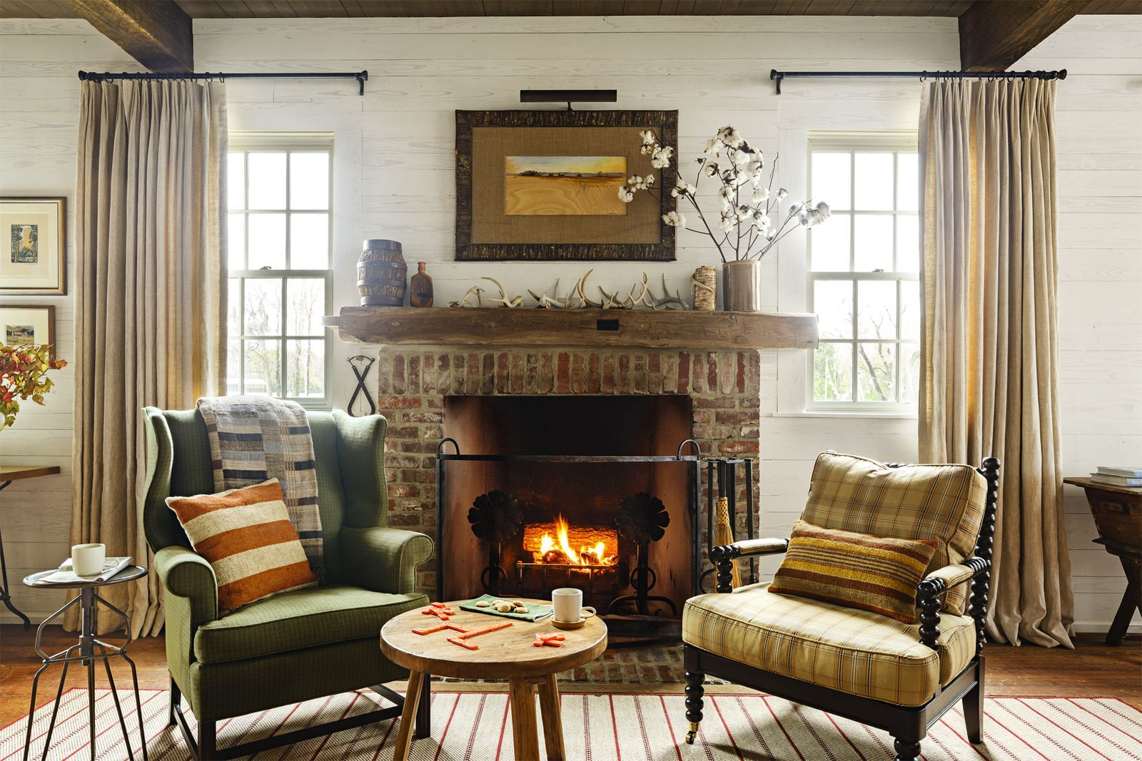 This Gorgeous Alabama Dogtrot Home Will Have You Dreaming of Fall images