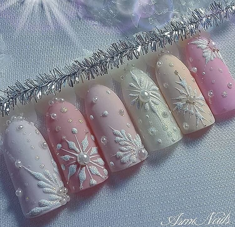 27 snow nail designs | Bunnies | Beauty | Photoshoot | All the stuff I care about