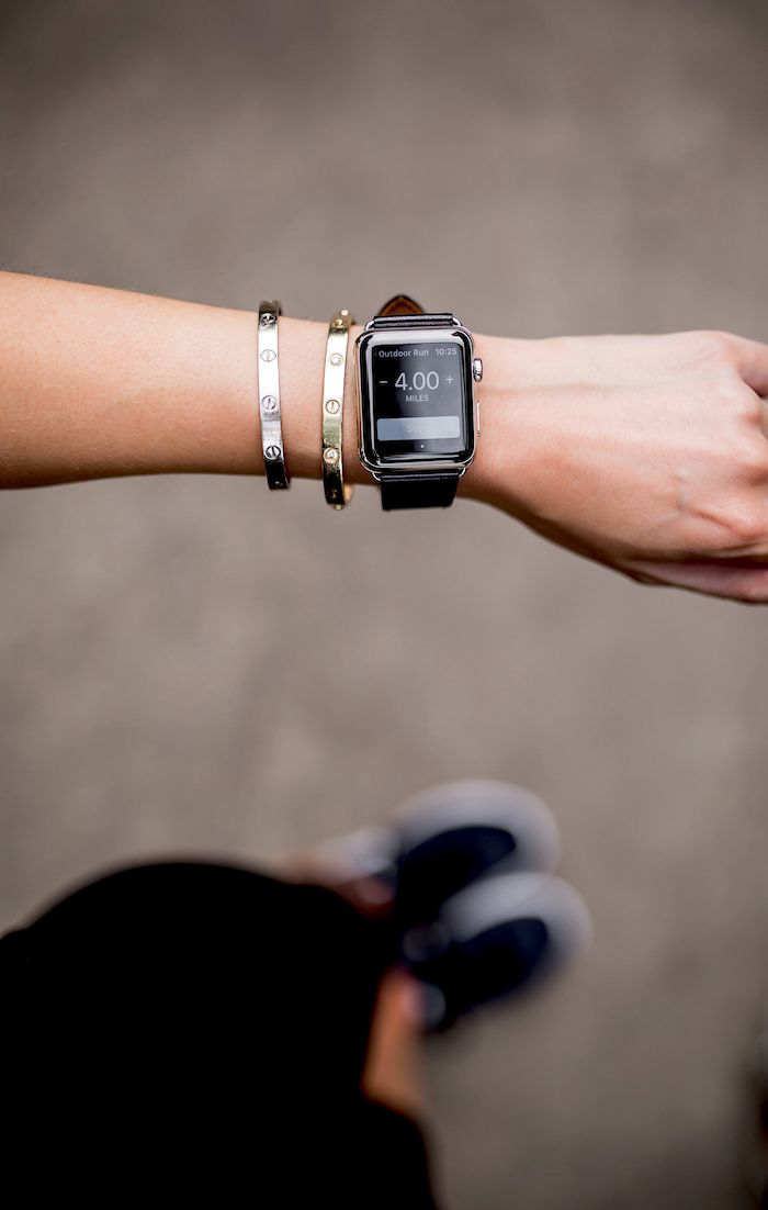 apple watch for running