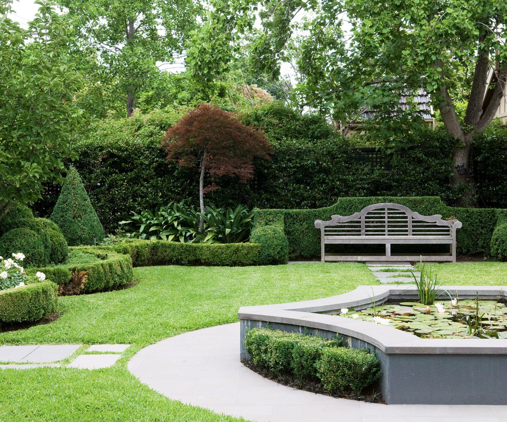 5 elements needed to create a formal garden Garden