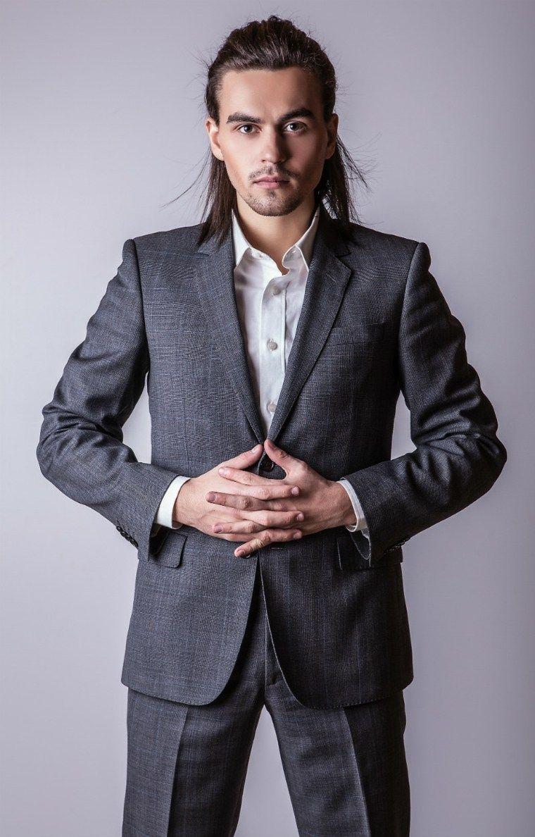 Peinados formales hombre