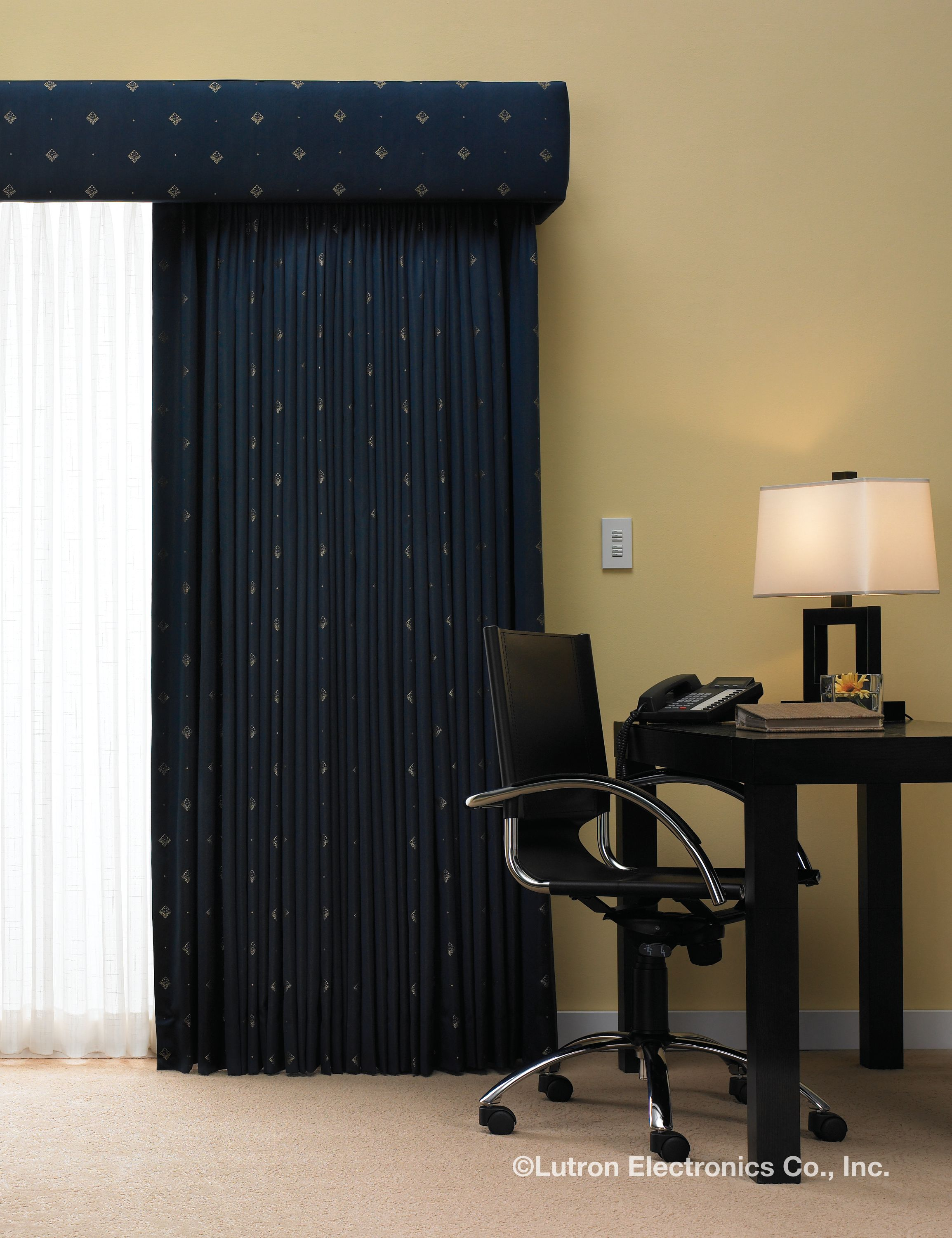 rods drapery of residential full home drapes smart control installation shades castlecom size for vertical auditorium motorized curtains automated remote conklin curtain theater u blinds