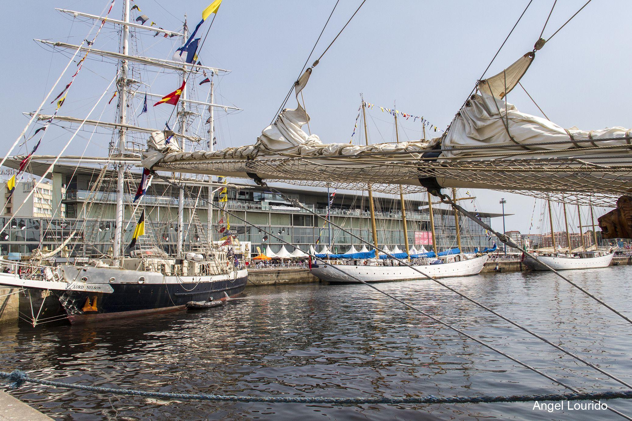 The Tall Ships Races A Coruña 2016 Barcos Altos Galicia Turismo Barcos