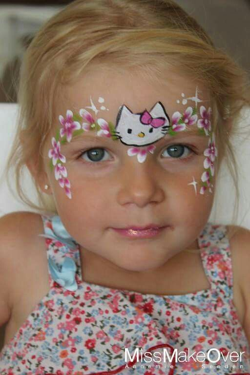 Hello Kitty Face Painting Designsface Imagesbody