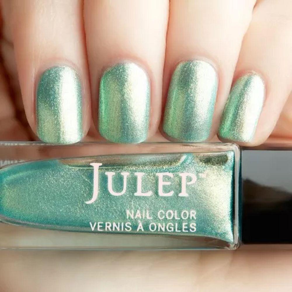 Julep FRANCINE Nail Color Treat Polish Boho Glam Seaglass Iridescent ...