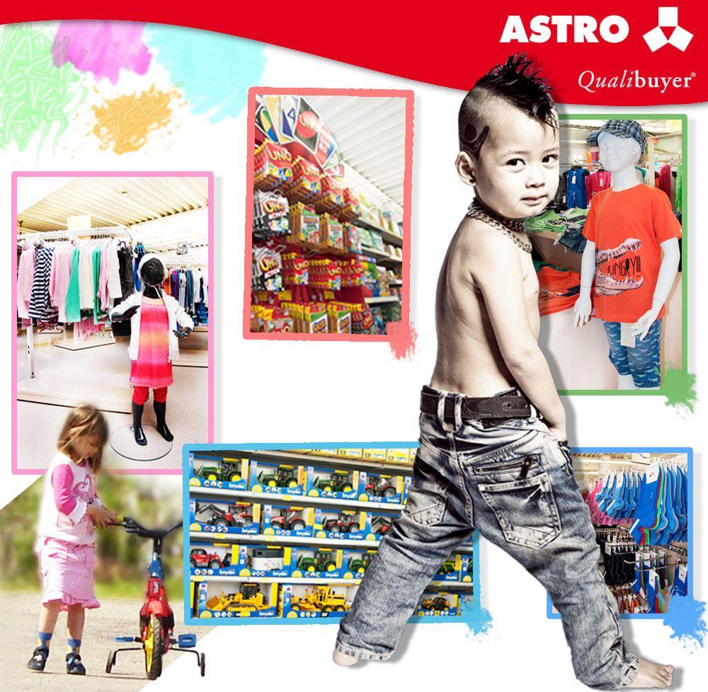 Astro Shop hat auch eine Kinderabteilung - es lohnt sich, diese zu besuchen :)