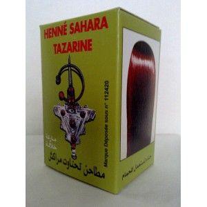 Henné SAHARA TAZARINE pour cheveux, solution génial pour avoir une couleur manifique au naturel sans aucun agents chimique