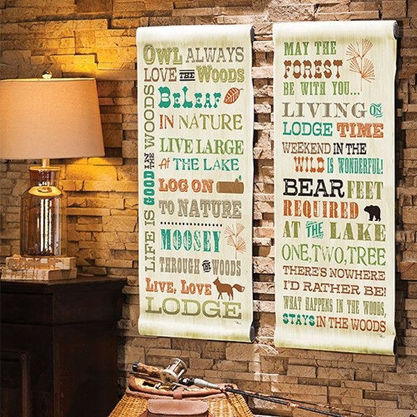 Take a look at the Woodland Style: Décor event on zulily today!