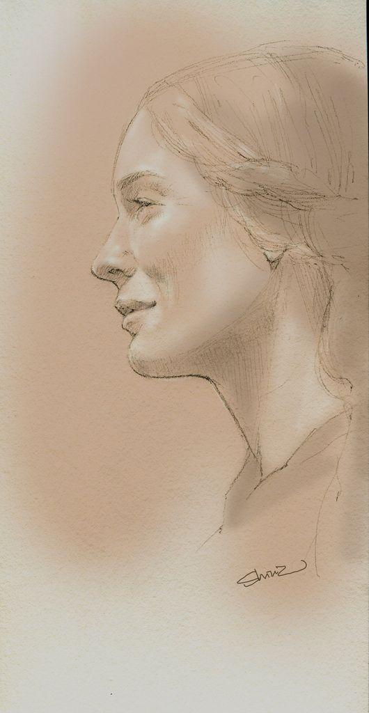 Cate Banchett  http://shinzchang.blogspot.com/2010/06/sketchbook-head-drawing.html
