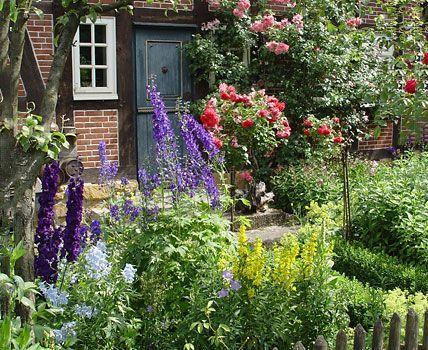 Grundkurs Gartengestaltung Garten, romantisches Landhaus und - garten anlegen tipps