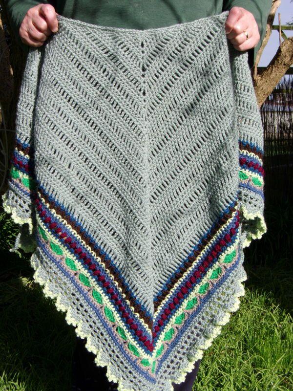 Crochet Shawl Pattern ~ Instant Download ~ Sunday Shawl in 2018 ...