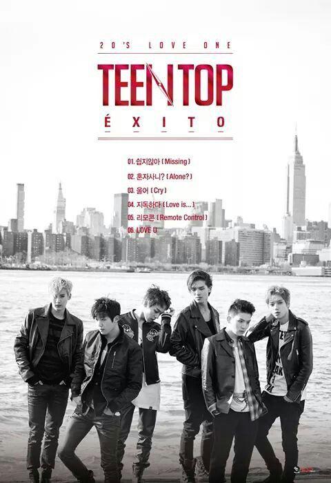 Teen Top Éxito Album